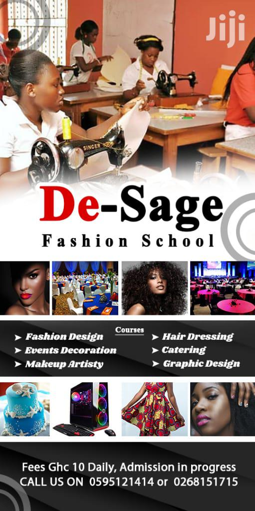 De-sage Fashion Collage | Classes & Courses for sale in Awutu Senya East Municipal, Central Region, Ghana