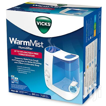 Archive: Vicks Warm Mist Humidifier