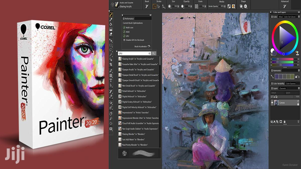 Corel Painter 2020 | Digital Art & Painting Software | Full Version