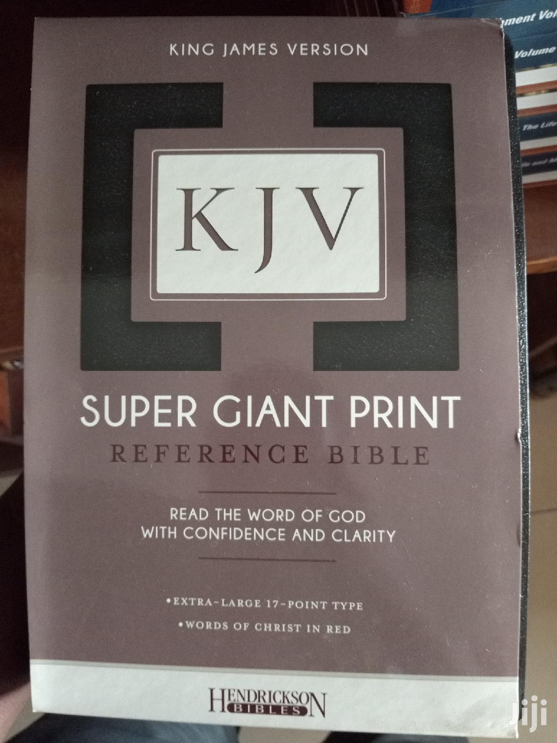 Holy Bible KJV (Super Giant Print)