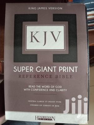Holy Bible KJV (Super Giant Print)   Books & Games for sale in Greater Accra, Airport Residential Area