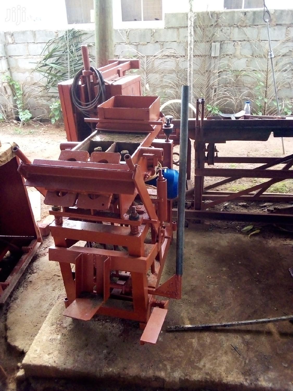 Block Machine | Manufacturing Equipment for sale in Adenta Municipal, Greater Accra, Ghana