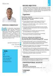 Accounting & Finance CV | Accounting & Finance CVs for sale in Ashanti, Kumasi Metropolitan