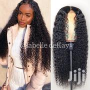 20 Inches Wet Curls Closure Wig Cap | Hair Beauty for sale in Greater Accra, Adenta Municipal