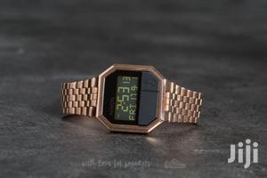 Nixon Re Run Rose Gold