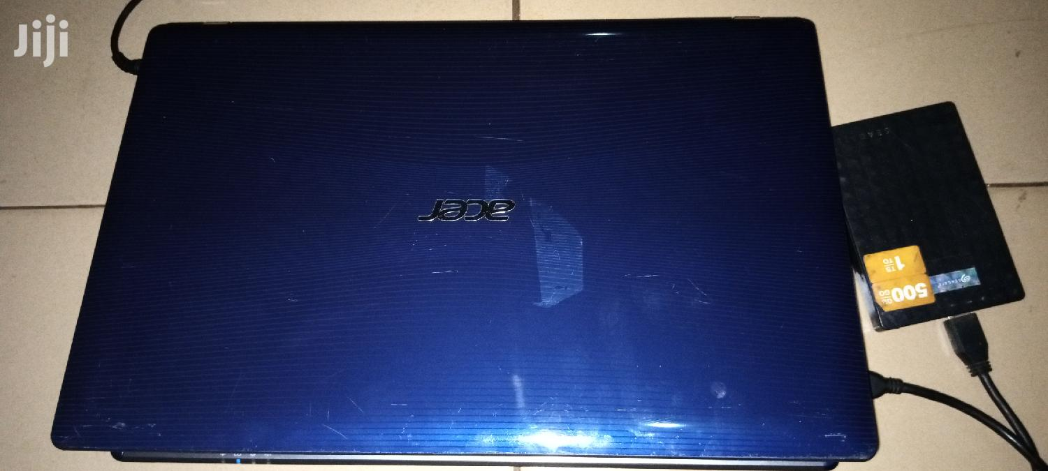 Laptop Acer Aspire 5755G 12GB Intel Core i5 HDD 750GB | Laptops & Computers for sale in Tema Metropolitan, Greater Accra, Ghana