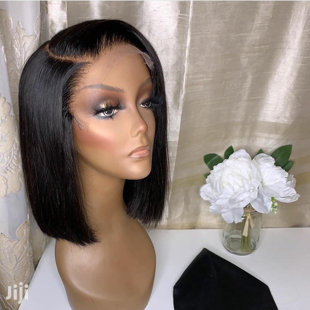 Archive: Indian Hair Blunt Cut Wig Cap