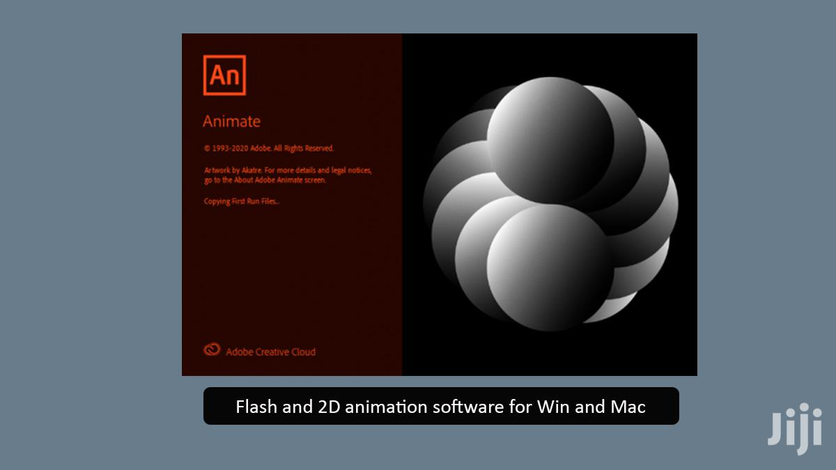 Adobe Animate 2020 |Win & Mac | Flash And 2D Animation Software