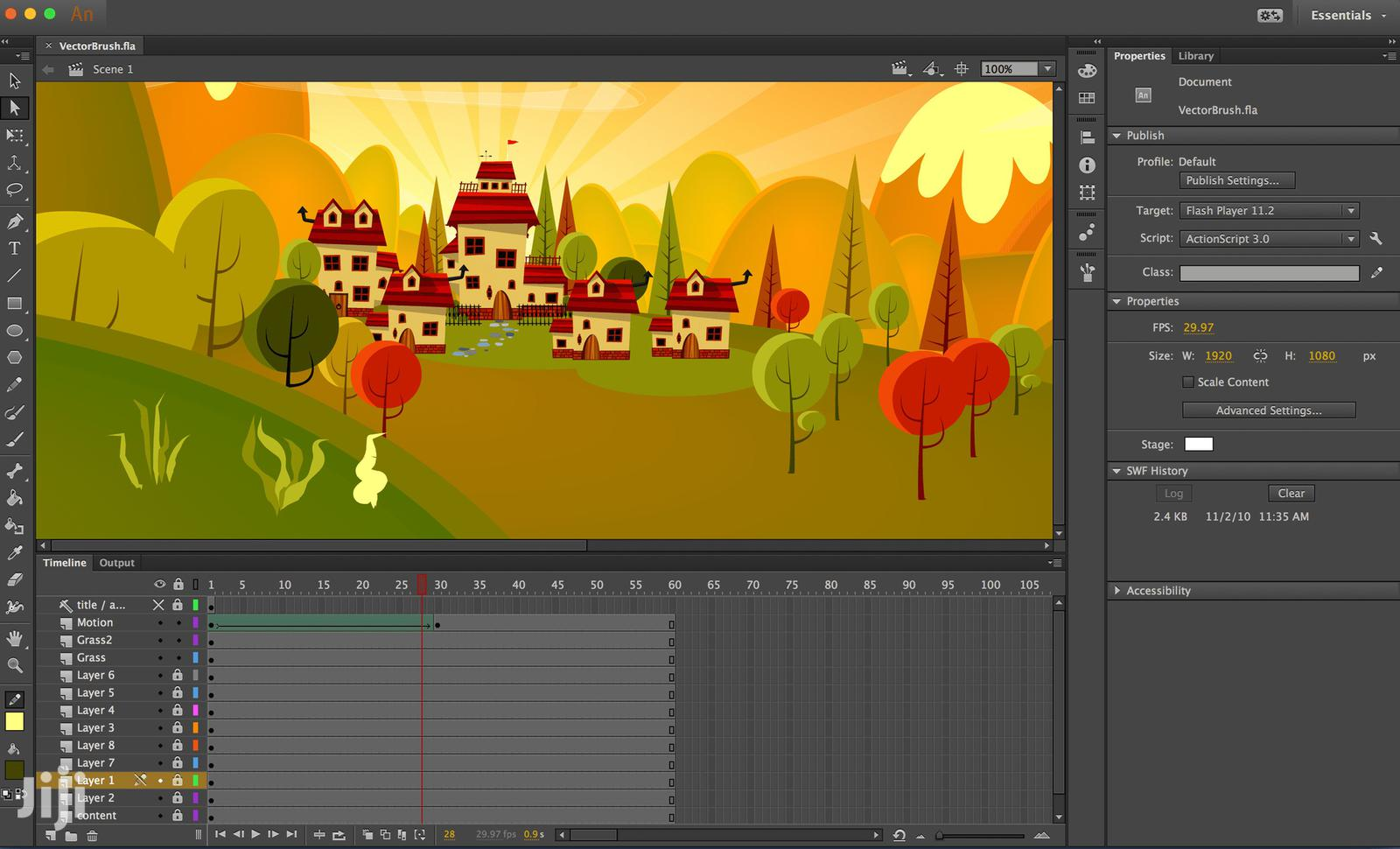 Adobe Animate 2020 |Win & Mac | Flash And 2D Animation Software | Software for sale in Kumasi Metropolitan, Ashanti, Ghana