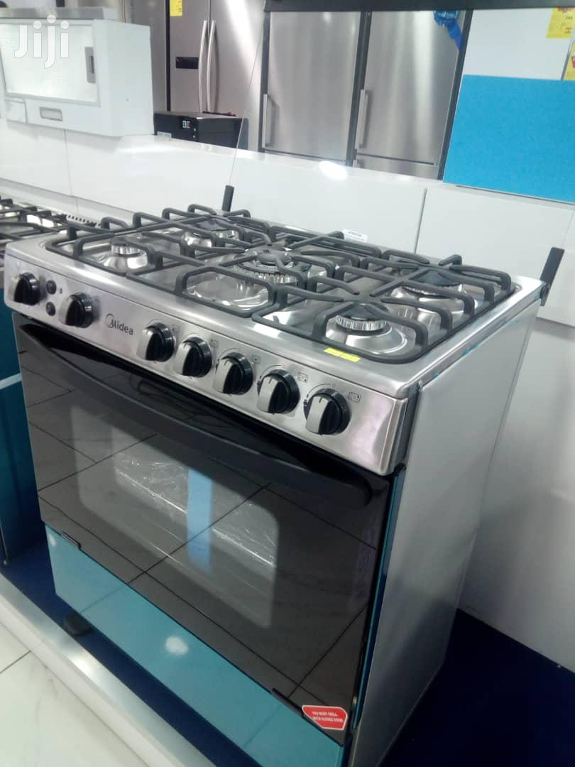 Midea 5 Burner Gas Cooker With Oven