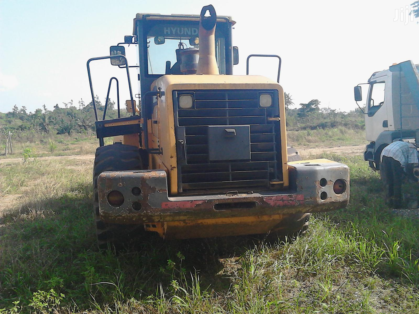 Archive: Slightly Used Hyundai Wheel Loader For Sale