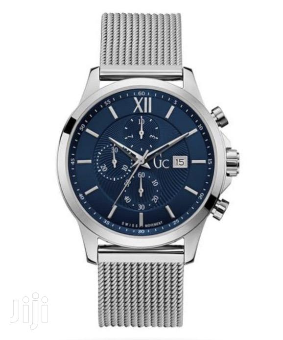 Gc Watch Mesh Silver Chain Watch | Watches for sale in Abelemkpe, Greater Accra, Ghana