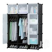 DIY 12 Cubes Plastic Wardrobe With Shoe Rack | Furniture for sale in Greater Accra, Kwashieman