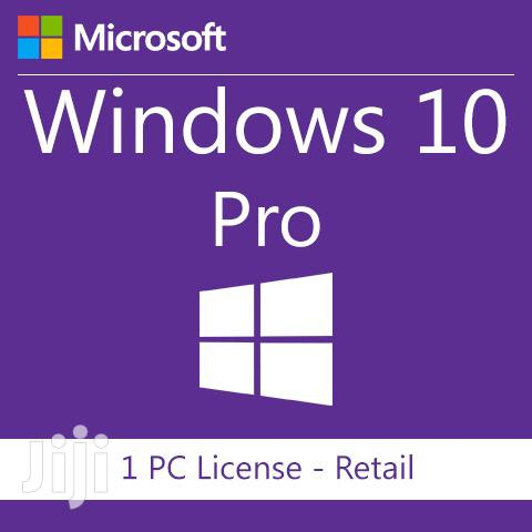 Microsoft Windows 10 Pro Genuine Licenses :PROMOTION!! | Software for sale in Accra Metropolitan, Greater Accra, Ghana