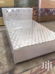 Leather Double Bed | Furniture for sale in Greater Accra, Ga East Municipal