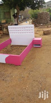 Double Bed With Bed Side Locker | Furniture for sale in Greater Accra, Achimota