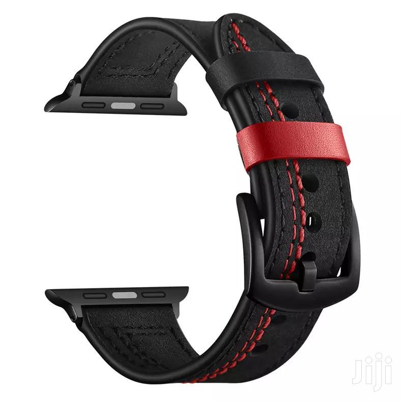 Bandream Genuine Leather Strap Band For Apple Watch Series 1 2 3 4 5