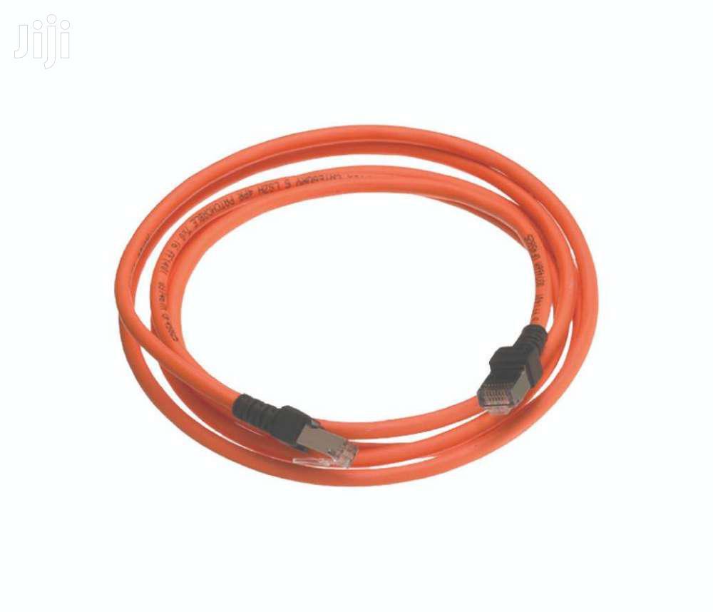 Archive: Nexans Cat6 RJ45 Patchcord Cable - N101.214HO - Orange - 5 Meter