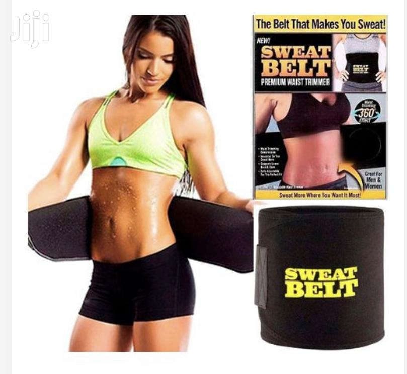 Sweat Belt Waist Trainer- Black | Tools & Accessories for sale in East Legon, Greater Accra, Ghana