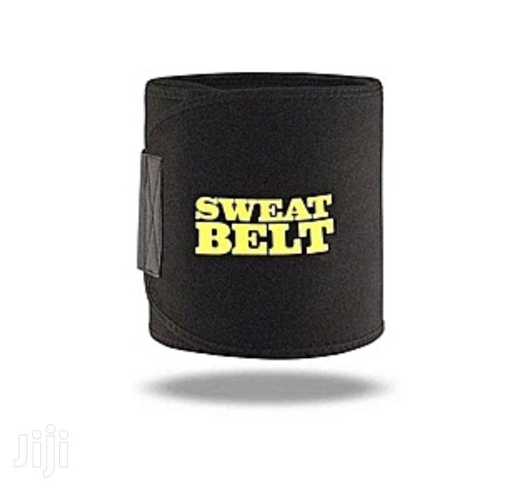 Sweat Belt Waist Trainer- Black