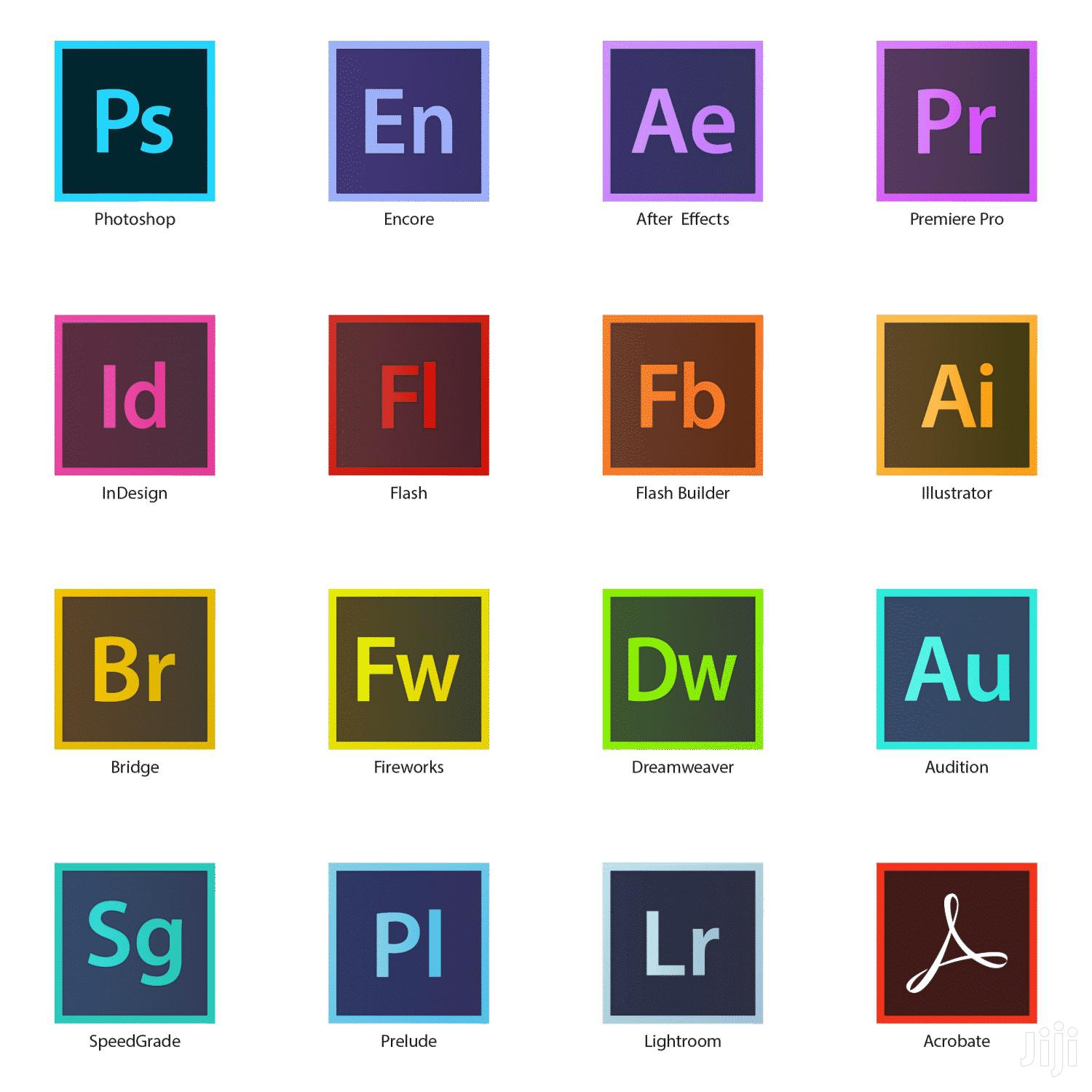 Adobe CC Master Collection 2020