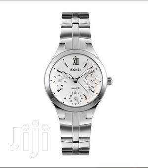 Skmei 9132 Women Quartz Fashion Stainless Steel Watches