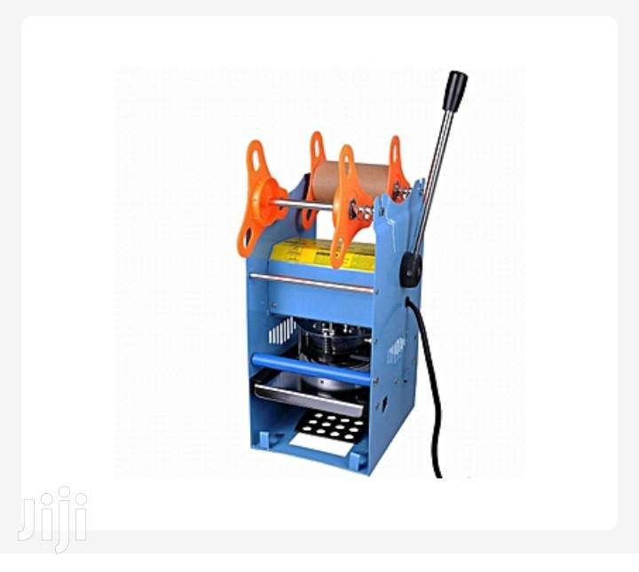Archive: Manual Cup Sealing Machine