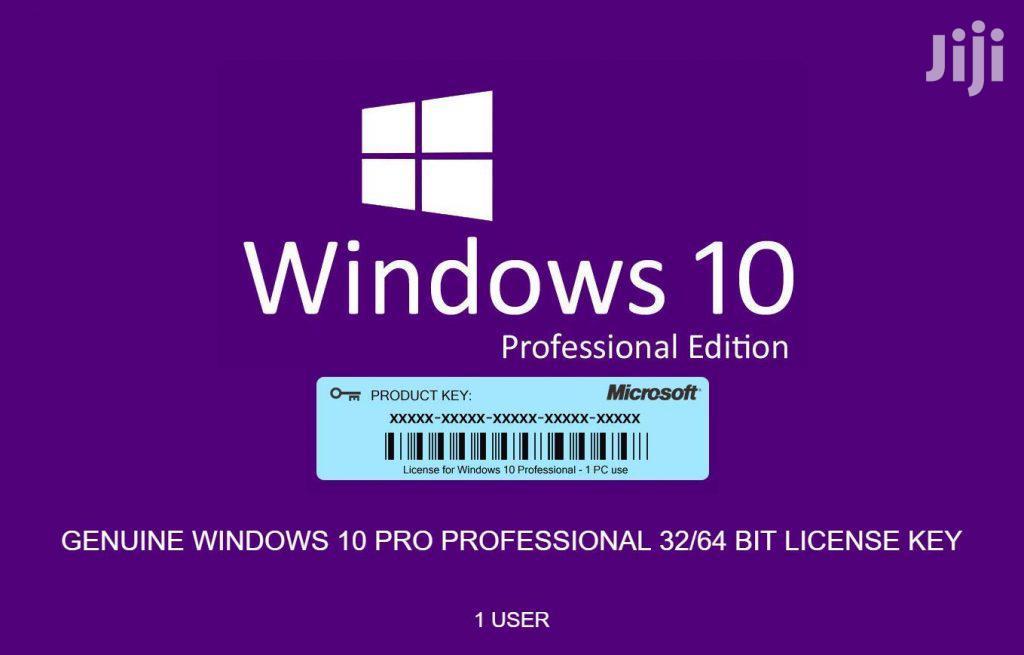 Archive: Windows 10 Pro Licence Key