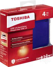 Toshiba 4TB USB 3.0 Canvio Advance Portable External Hard Drive | Computer Hardware for sale in Greater Accra, Akweteyman