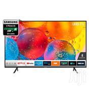 "Samsung -55"" RU7100 Series Smart 4K UHD (2160p) HDR TV (Black) | TV & DVD Equipment for sale in Greater Accra, Adabraka"