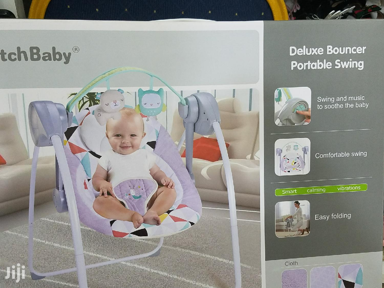 Deluxe Bouncer and Portable Swing for Baby's