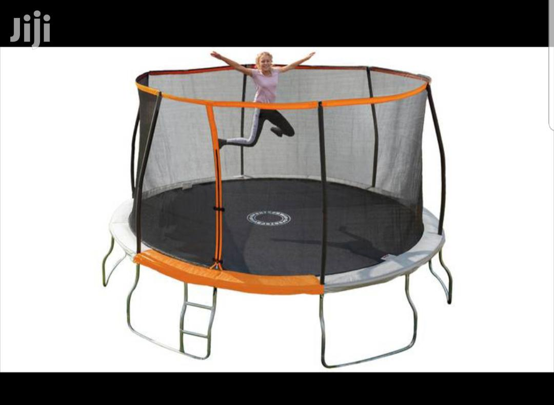 12ft Bouncy Trampoline Jump Folding Type New