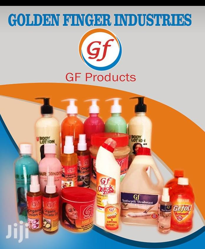 Cosmetics, Detergent, Rubbing Alcohol And Hand Sanitizer