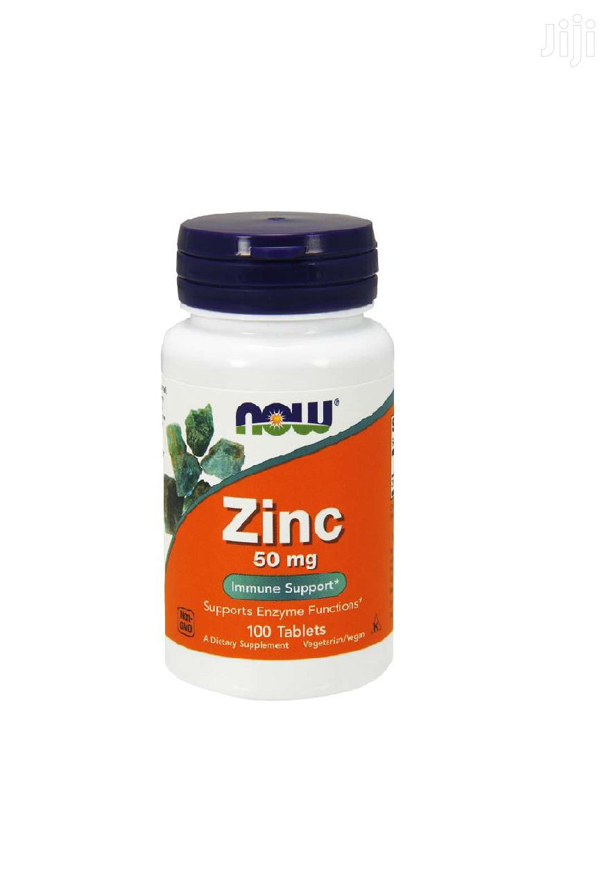 Supplement: NOW Zinc 50 Mg,100 Tablets