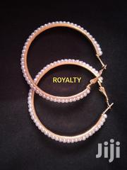 Round Pearl And Gold Hoops | Jewelry for sale in Greater Accra, Ga South Municipal