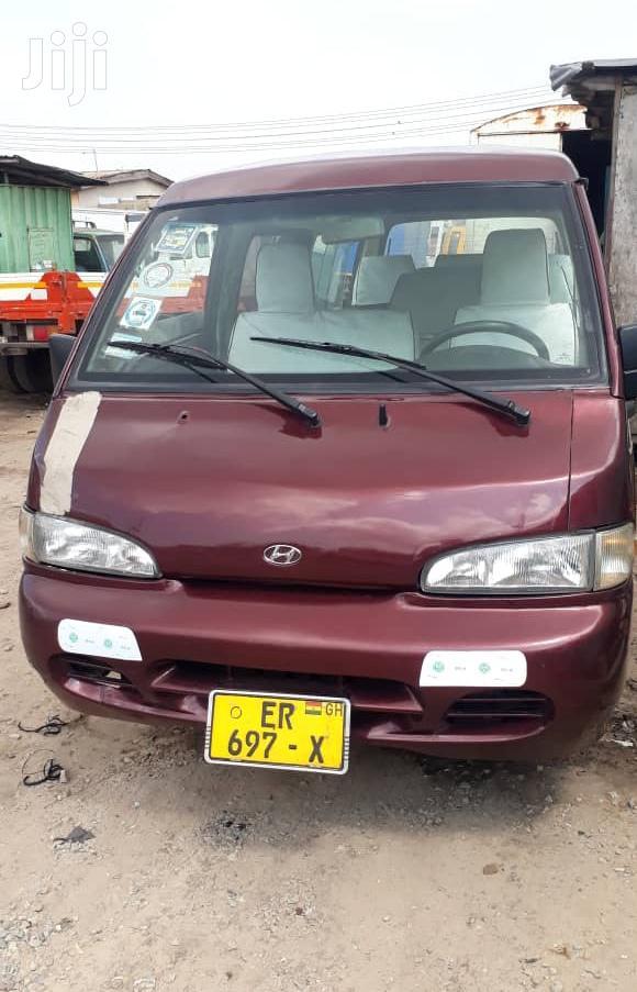 Archive: Hyundai H100 1997 Brown
