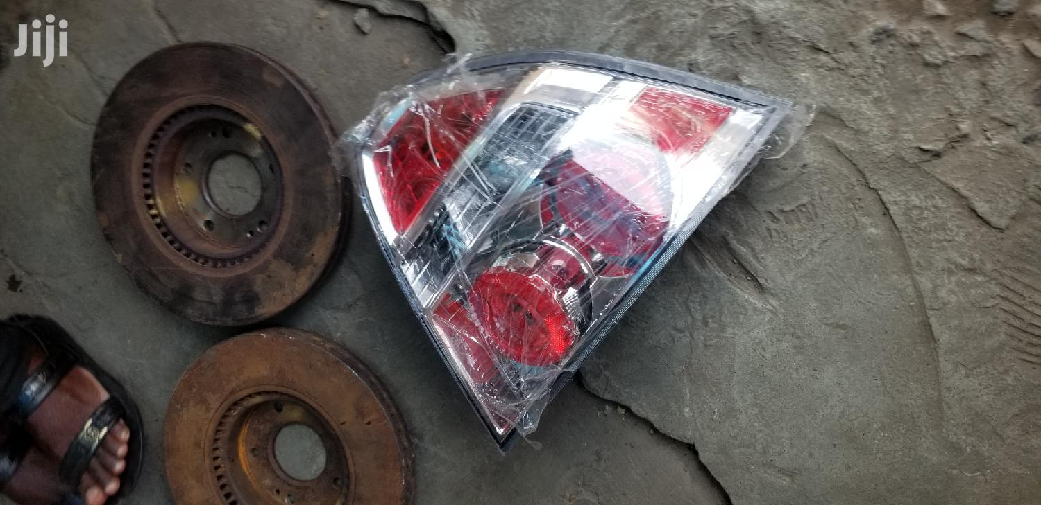 Car Taillights and Headlights