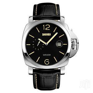 Skmei Men'S Big Dial Quartz Wristwatch