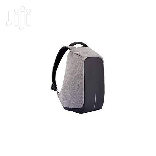 Anti - Theft Waterproof With USB Backpack - Black/Grey | Bags for sale in Madina, Greater Accra, Ghana
