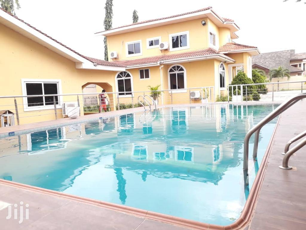 Executive 5 Bedroom Fully Furnished At East Legon For Rent