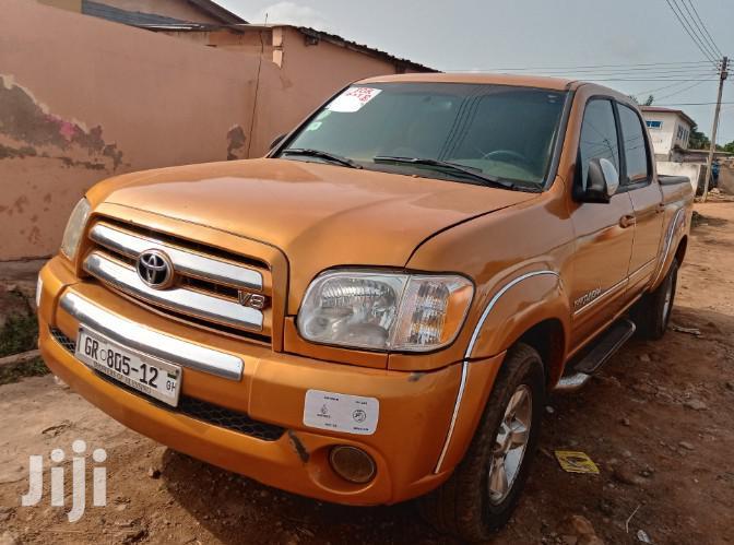 Toyota Tundra Automatic 2003 Gold
