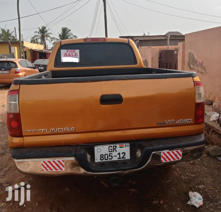 Toyota Tundra Automatic 2003 Gold | Cars for sale in Kwashieman, Greater Accra, Ghana