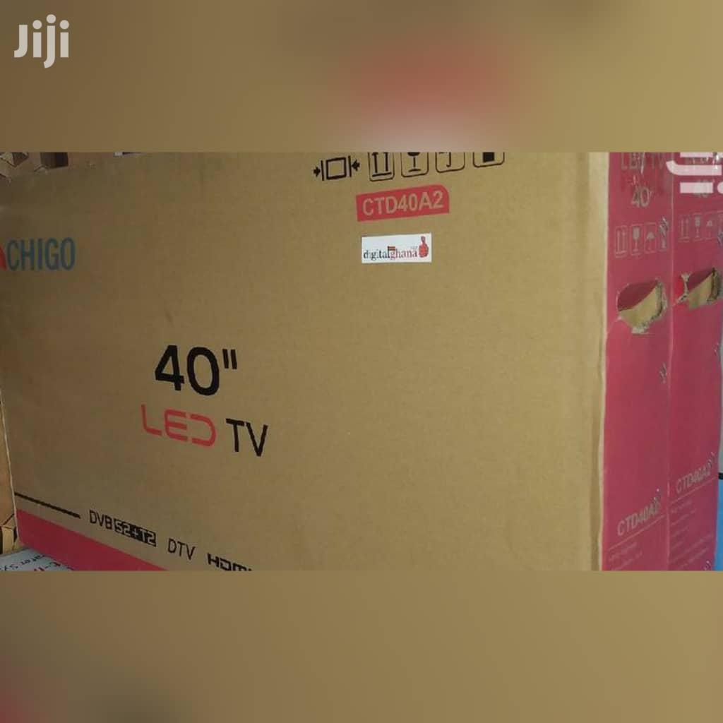 Chigo 40 Inches Digital Satellite Tv Led   TV & DVD Equipment for sale in Achimota, Greater Accra, Ghana