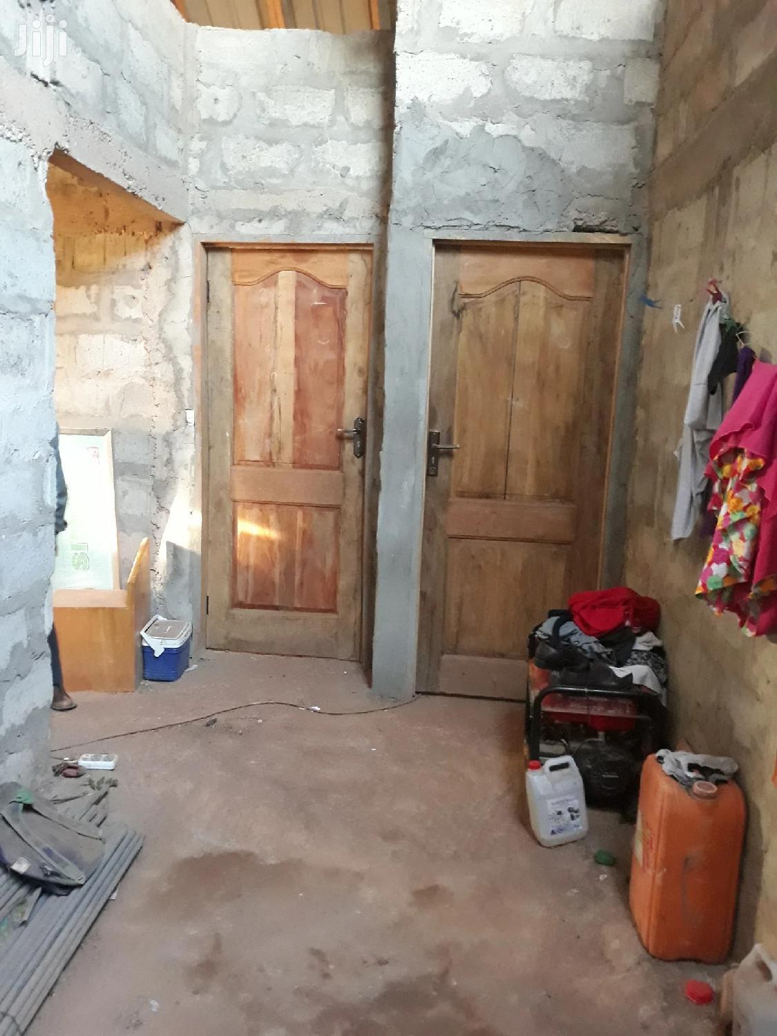 Uncompleted 3 Bedroom House For Sale At Adenta