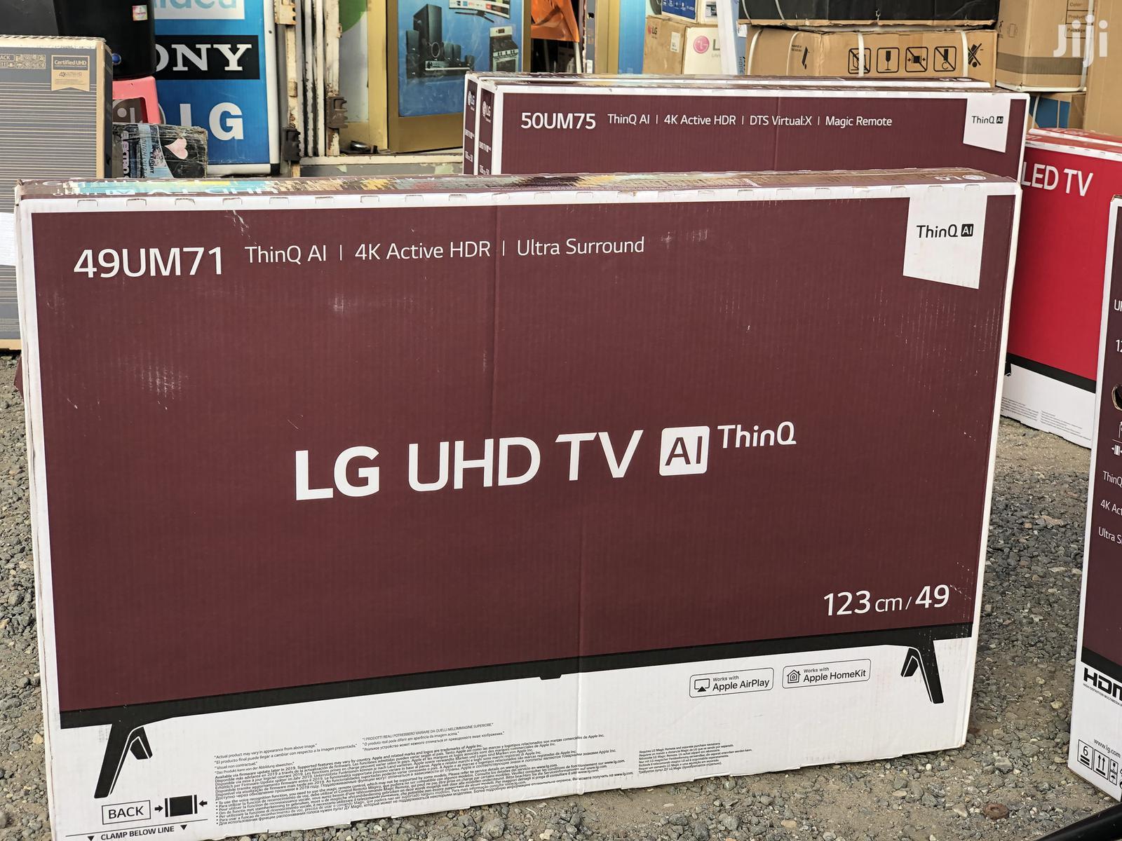"""LG 49"""" 4K Ultra HD Smart LED TV"""