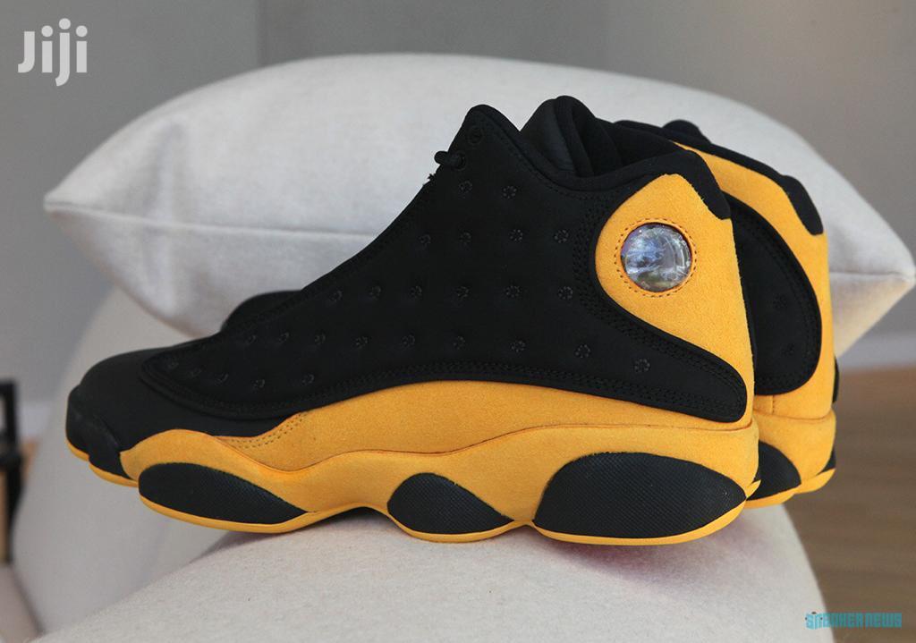 Air Jordan 13 Retro-yellow Black in Ga