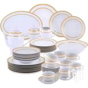 Dinner Set - 47 Pieces White/Gold | Kitchen & Dining for sale in Greater Accra, Madina
