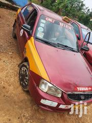 Hyundai Accent 2002 GL Red | Cars for sale in Western Region, Nzema East Prestea-Huni Valley