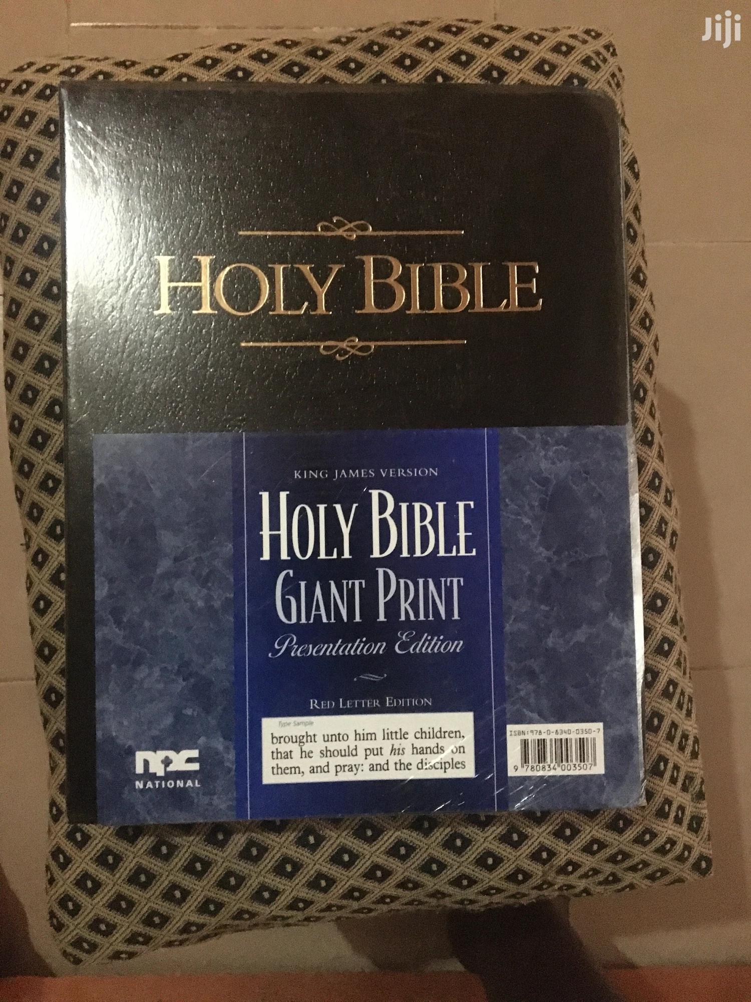 Holy Bible, Giant Print JKV