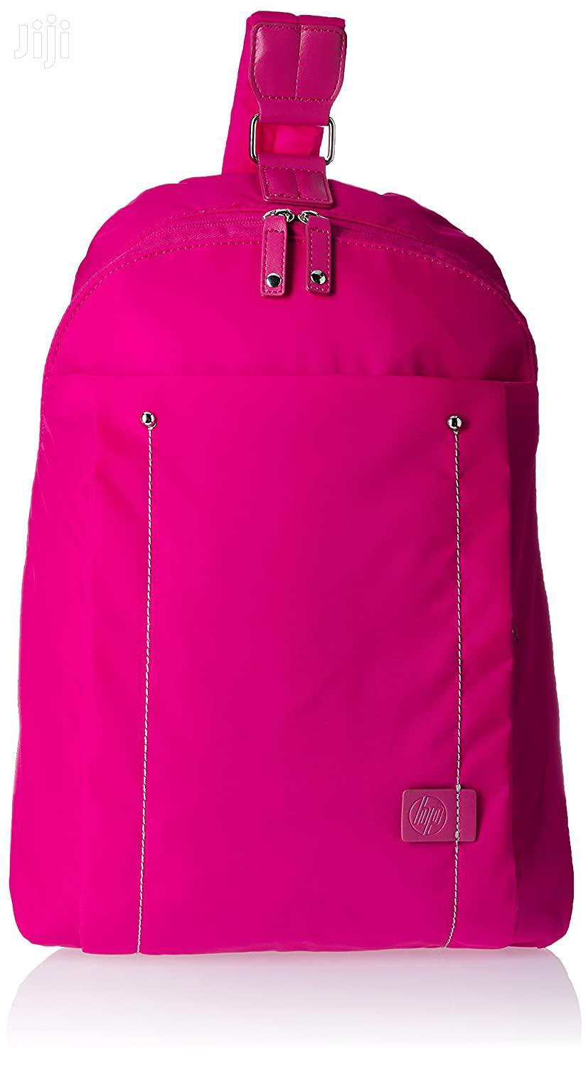 HP 14-inch Laptop Sling Bag Pink Black And Purple